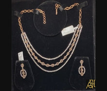 Load and play video in Gallery viewer, Fantastic Diamond Necklace Set