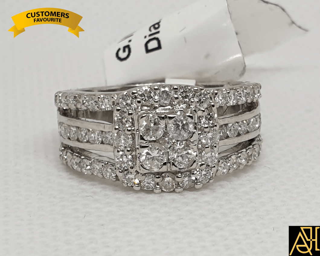 Fondly Diamond Wedding Ring