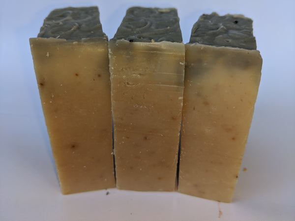 Strawberry and Charcoal Body Soap