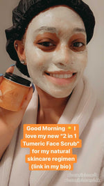 Load image into Gallery viewer, 2 in 1 Turmeric Mask and Scrub (Gentle)
