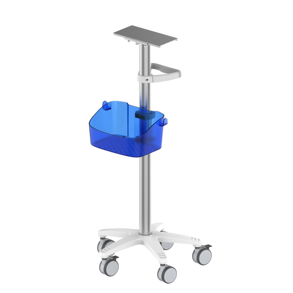 RS002 Fixed height monitor trolley