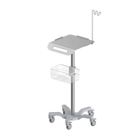 RS011 ECG Roll Stand , with cable arm, heavy duty