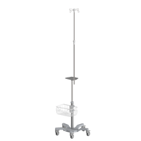 RS010 Infusion pump roll stand , height adjustable