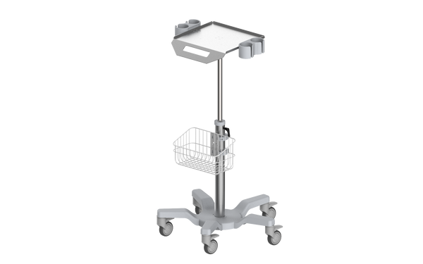 RS010 Ultrasound trolley / Height adjustable/ With probe holder
