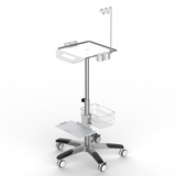 RS001 Ultrasound trolley ,Height Adjustable with Gas spring