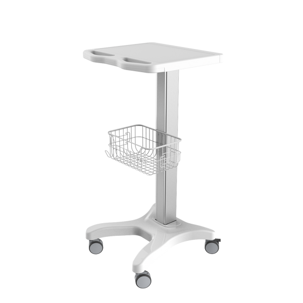 TR700 laptop/ ECG trolley with basket
