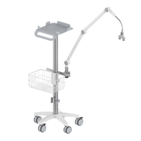 RS002 Ventilator Roll stand/ with Arm/ Humidifier holder