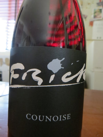 Bottle of Counoise