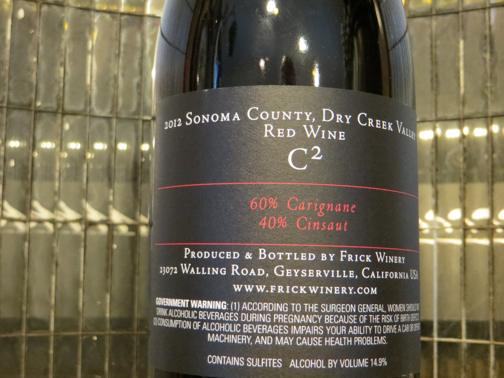 (Archive) C2 (C-squared) Red Blend 2012 Dry Creek Valley