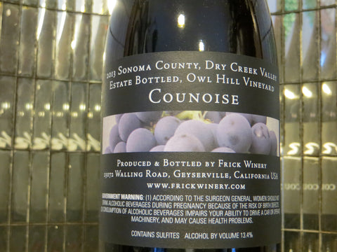 (Archive) 2013 Counoise - Estate Owl Hill Vineyard, Dry Creek Valley