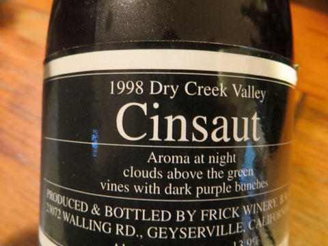 (Archive)  ONCE IN A LIFETIME Cinsaut 18 VINTAGES ✶Ultra Rare✶ 18 bottles 1994-2011