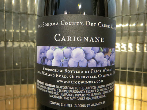 (Archive) CARIGNANE 2013 Dry Creek Valley