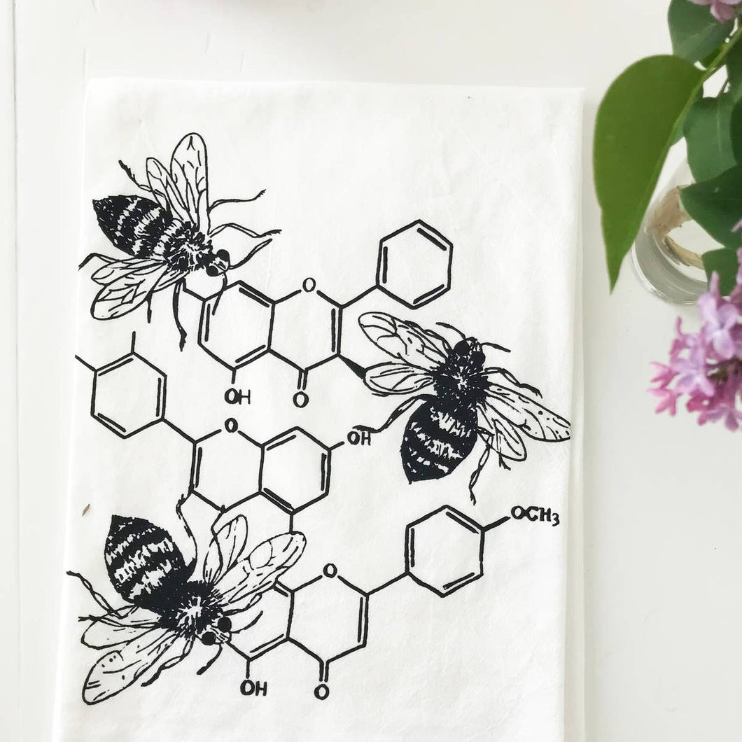 Honey Chemistry Cotton Kitchen Towel
