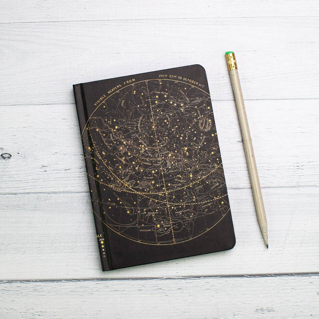 Astronomy Hardcover Mini Notebook