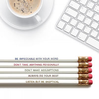 Daily Reminder Pencils