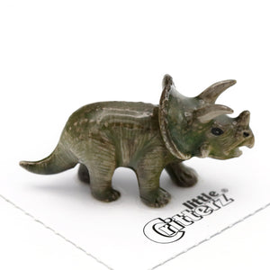 Frill Triceratops Little Critterz Figurine
