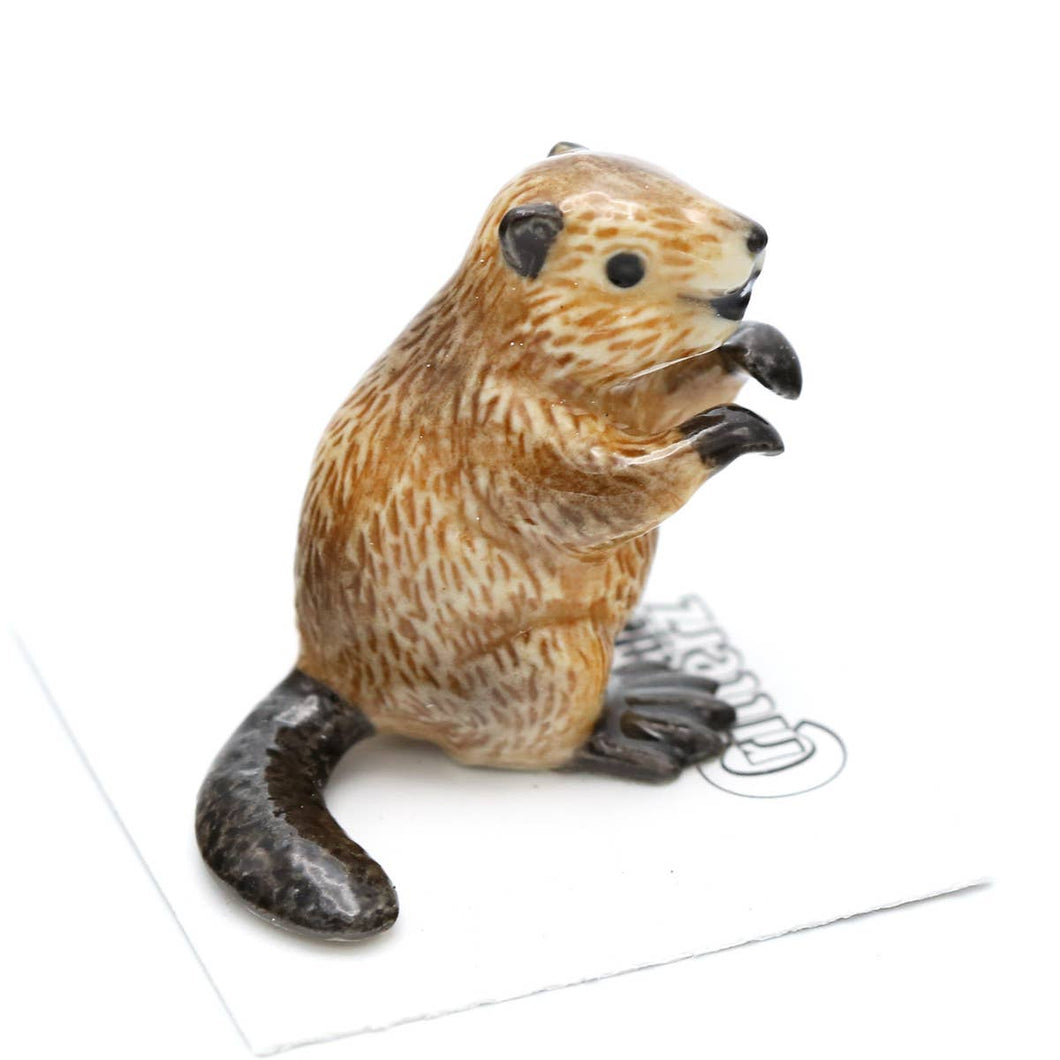 Paddle The Beaver Little Critterz Figurine