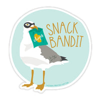 Snack Bandit Vinyl Sticker