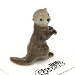 Nimble Sea Otter Little Critterz Figurine