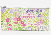 I have secrets, Cool ones Pencil Case