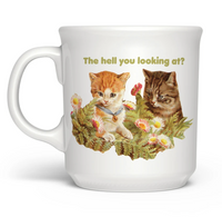 The Hell You Lookin' At Mug