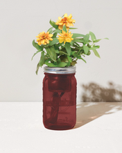 Load image into Gallery viewer, Zinnia Garden Jar