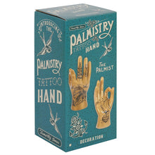 Load image into Gallery viewer, Gold Tattoo Palmistry Hands