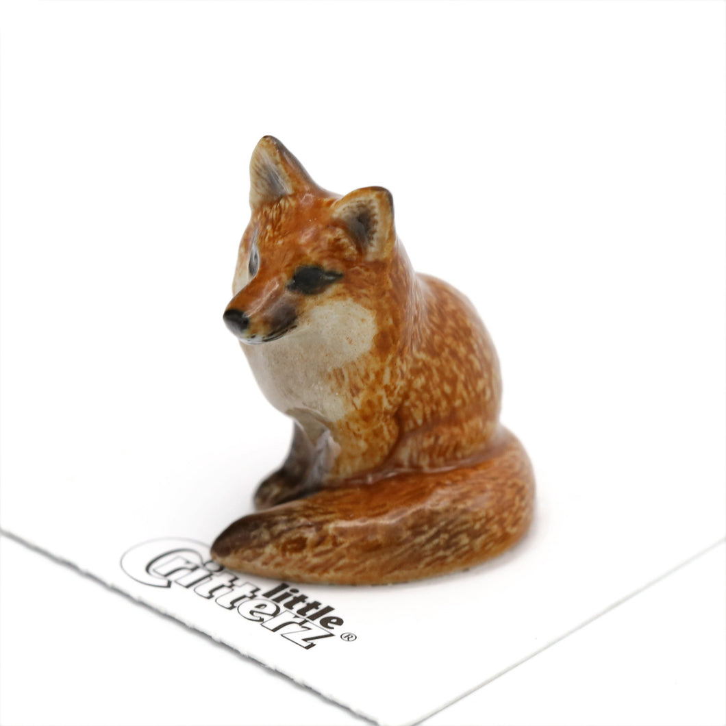 Brush The Fox Little Critterz Figurine