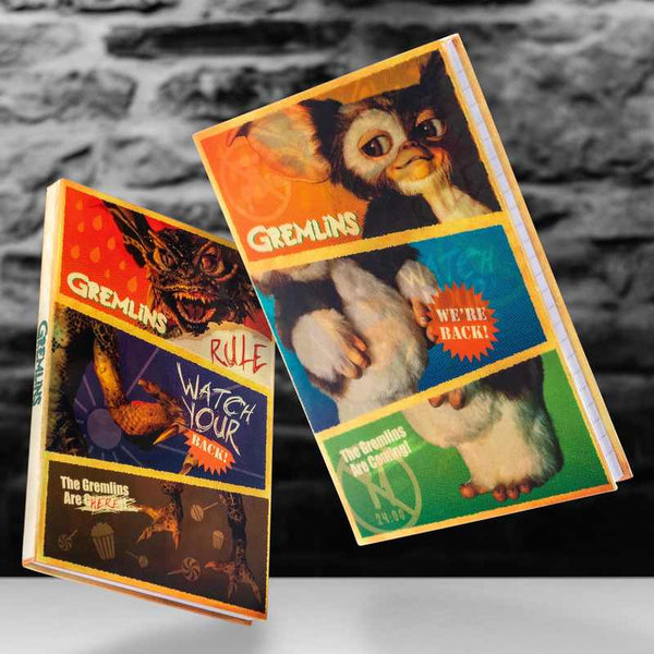 Holographic Changing Gremlins Notebook
