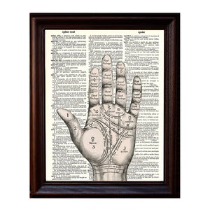 Palm Reader Dictionary Print