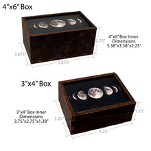 Load image into Gallery viewer, Moonphase Trinket Stash Box