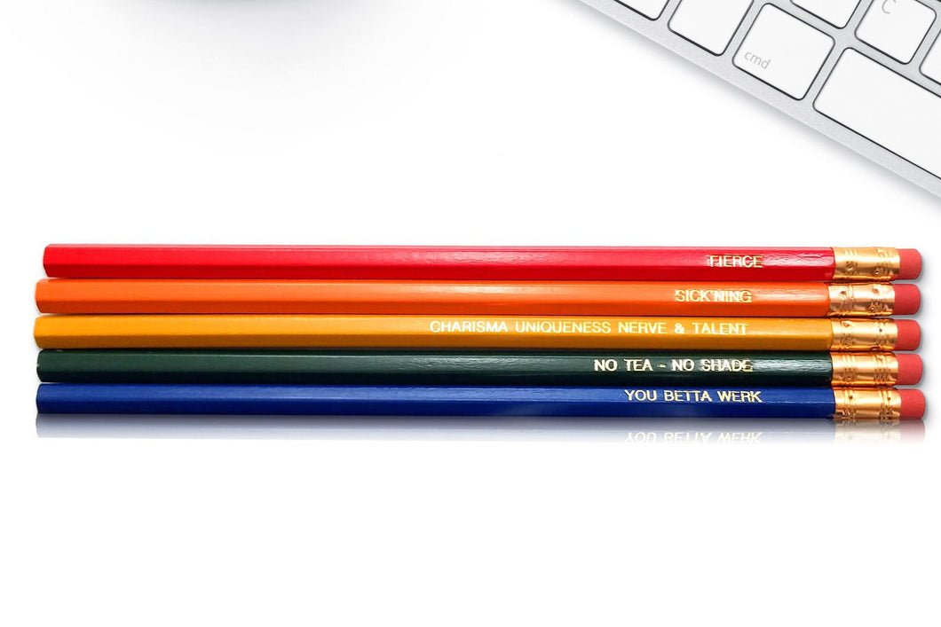 RuPaul Inspirational Pencils