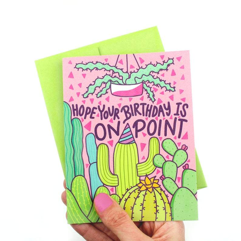 Hope your Birthday is on point Greeting Card