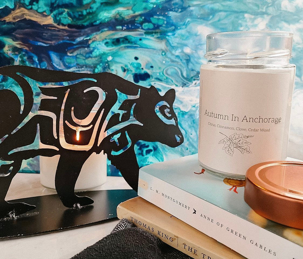 Happy Husky Co. Autumn in Anchorage Candle