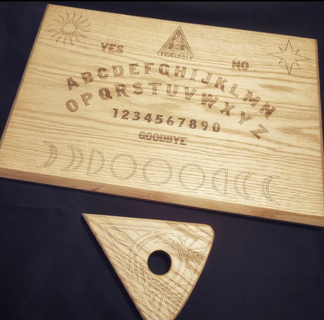 Custom Obscurity Ouija Board