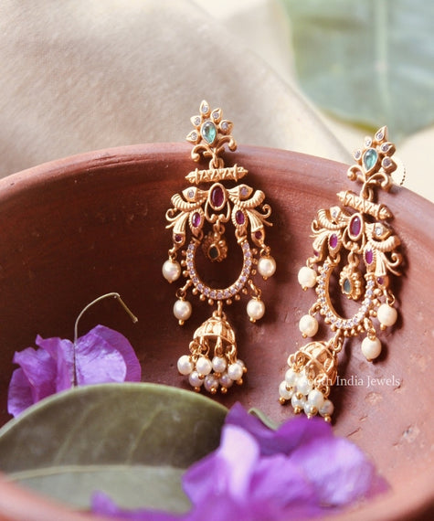 Trending Lightweight Chandbali Earrings