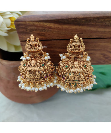 Grand Bridal Lakshmi Jhumka