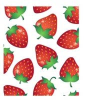 Strawberry (Stretch Lightweight Fabric-Dog Jammie)