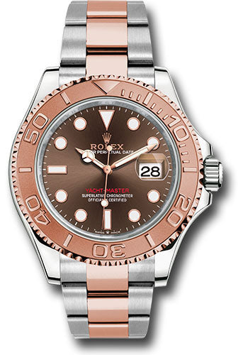 Rolex Steel and Everose Gold Yacht-Master 40 Watch - Chocolate Dial - 3235 Movement