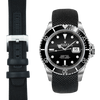 Everest CURVED END NYLON STRAP FOR ROLEX SUBMARINER WITH TANG BUCKLE