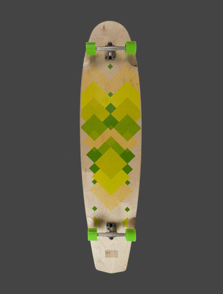 "Lime - 59"" - Complete Board + FS"