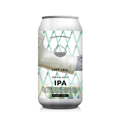 Cloudwater Left Leg: New England IPA