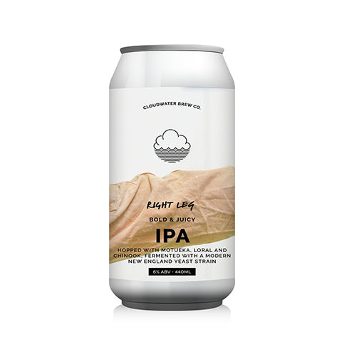 Cloudwater Right Leg: New England IPA