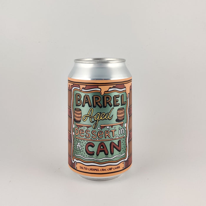 Amundsen Barrel Aged Dessert in a Can - Salted Caramel Choc Chip Cookie Imperial Stout