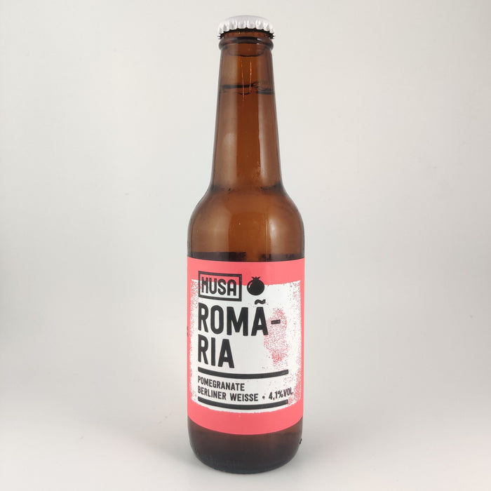 Musa Romaria Sour Berliner Weisse with Pomegranate