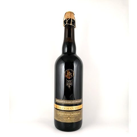 Les Trois Mousquetaires Dejeuner Imperial 2018: Bourbon Barrel Aged Imperial stout with coffee and maple.