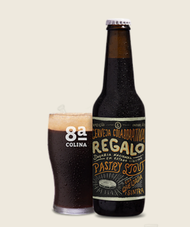 Oitava Colina Regalo: Pastry Stout, collab. with Hop Sin
