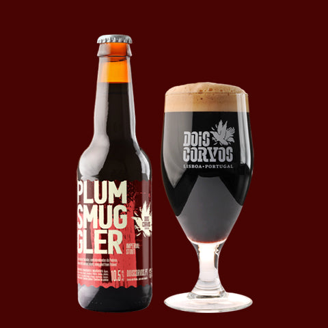 Dois Corvos Plum Smuggler: Imperial Stout with smoked plums