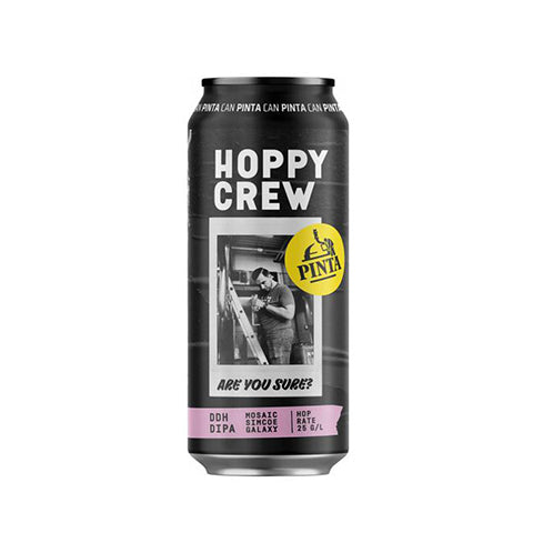 Browar PINTA Hoppy Crew: Are You Sure? New England Double IPA
