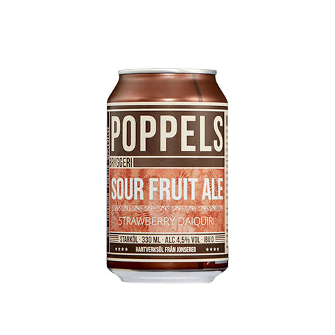 Poppels Sour Fruit Ale – Strawberry Daiquiri